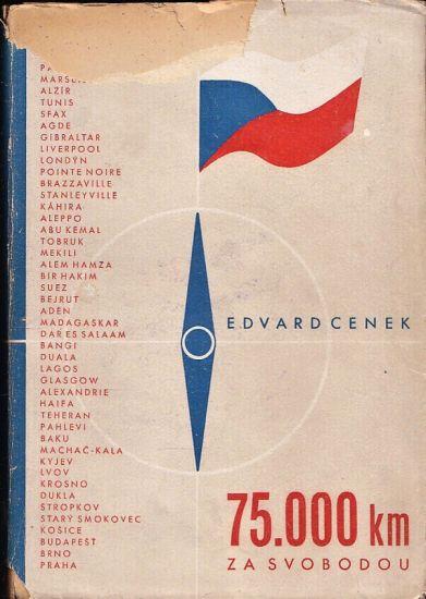 75000 km za svobodou - Cenek Edvard | antikvariat - detail knihy