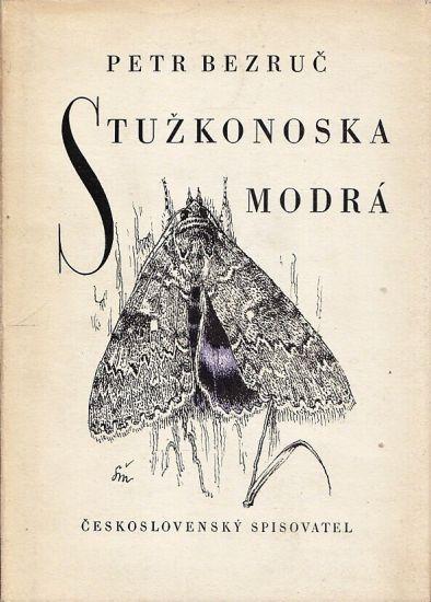 Stuzkonoska modra - Bezruc Petr | antikvariat - detail knihy