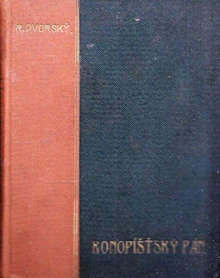 Konopistsky pan - Dvorsky Rudolf   antikvariat - detail knihy