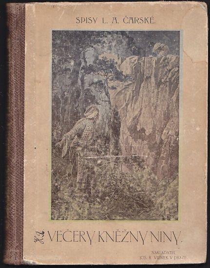 Vecery knezny Niny - Carska Lidija Aleksejevna   antikvariat - detail knihy