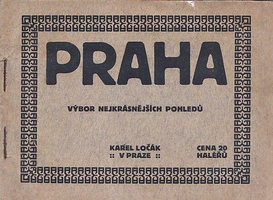 Praha  vybor nejkrasnejsich pohledu   antikvariat - detail knihy