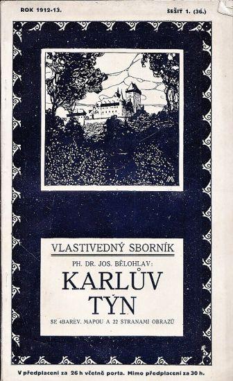 Karluv Tyn - Belohlav Josef | antikvariat - detail knihy