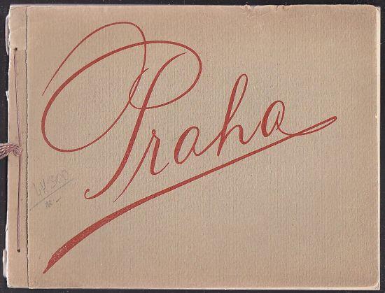 Praha  Soubor hlubotiskovych fotografii   antikvariat - detail knihy