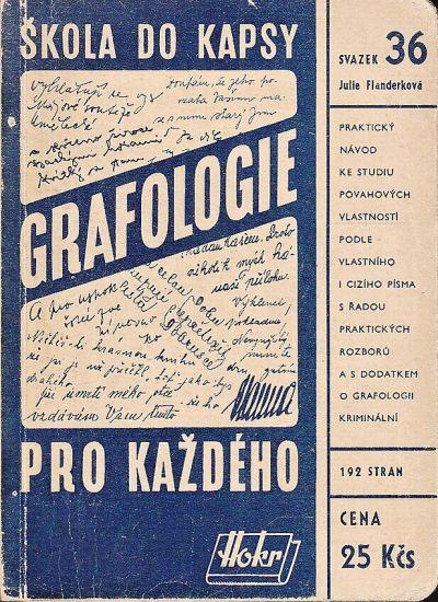 Grafologie pro kazdeho - Flanderkova Julie | antikvariat - detail knihy