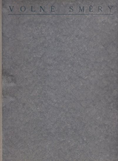Volne smery  umelecky mesicnik   antikvariat - detail knihy