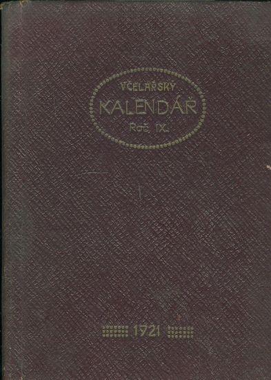 Zapisni vcelarsky kalendar 1921 - Wohnout Fr a Adamec Fr | antikvariat - detail knihy