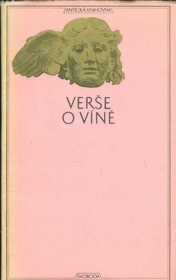 Verse o vine | antikvariat - detail knihy