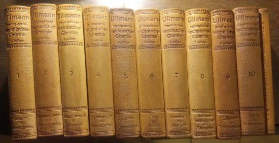 Enzyklopadie der technischen Chemie - Ullmann Fritz Professor Dr | antikvariat - detail knihy