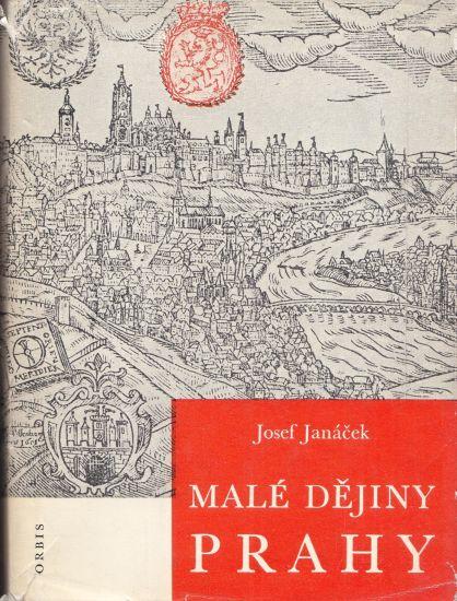 Male dejiny Prahy - Janacek Josef   antikvariat - detail knihy