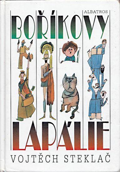 Borikovy lapalie - Steklac Vojtech | antikvariat - detail knihy