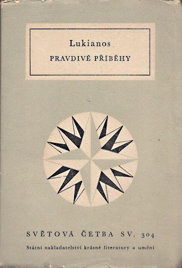Pravdive pribehy - Lukianos | antikvariat - detail knihy