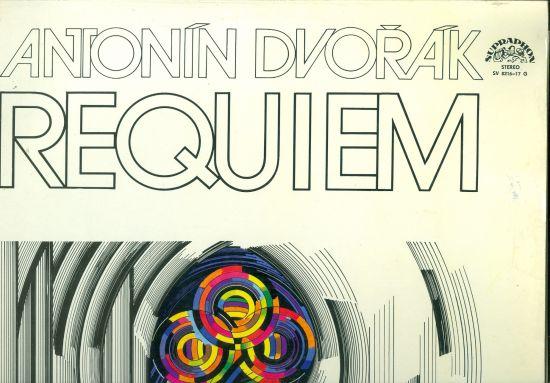 Requiem - Antonin Dvorak   antikvariat - detail knihy
