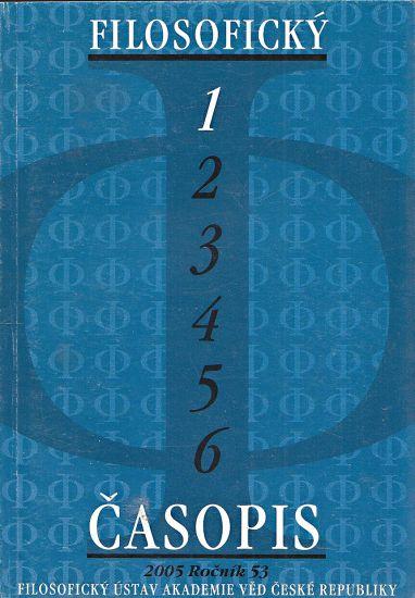 Filosoficky casopis | antikvariat - detail knihy