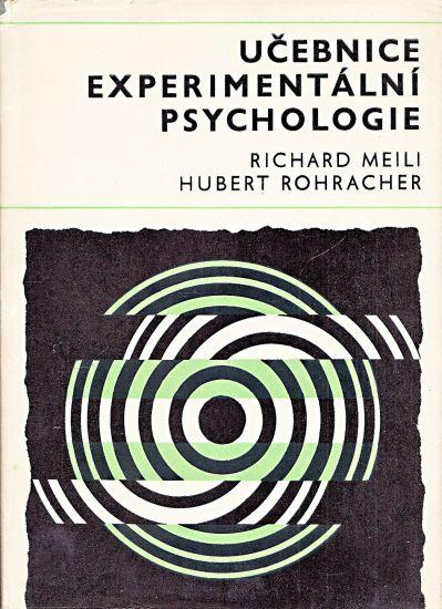 Ucebnice experimentalni psychologie - Richard Meili Hubert Rohracher a splupracovnici | antikvariat - detail knihy