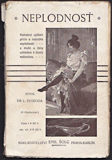 Neplodnost - Svoboda L   antikvariat - detail knihy