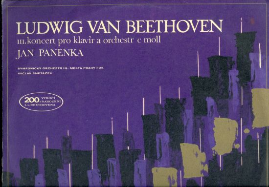 III koncert pro klavir a orchestr c moll - Ludwig van Beethoven | antikvariat - detail knihy