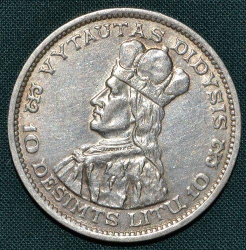 10 Litu 1936 Litva Irepublika - A9014 | antikvariat - detail numismatiky