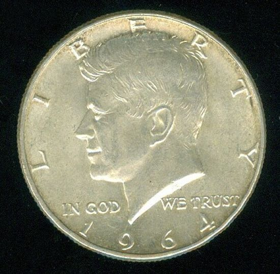 USA  12 Dolar 1964  J  F  Kenedy | antikvariat - detail numismatiky