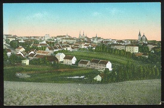 Iglau  Totalansicht | antikvariat - detail pohlednice