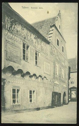 Tabor  Starkuv dum | antikvariat - detail pohlednice