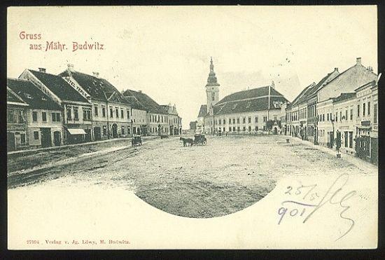 Gruss aus Mahr  Budwitz  | antikvariat - detail pohlednice