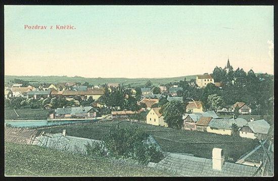 Pozdrav z Knezic | antikvariat - detail pohlednice