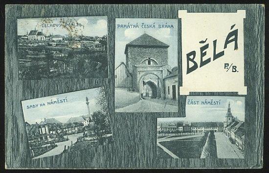 Bela p  Bezdezem | antikvariat - detail pohlednice