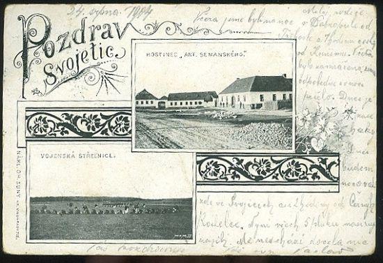 Pozdrav ze Svojetic | antikvariat - detail pohlednice