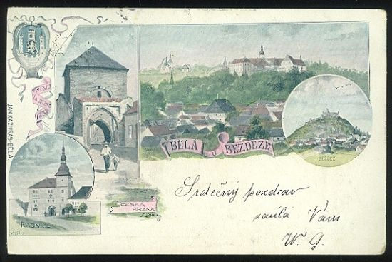 Bela u Bezdeze | antikvariat - detail pohlednice