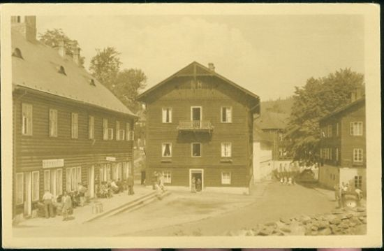 Karlova Studanka pod Pradedem  Jeseniky | antikvariat - detail pohlednice
