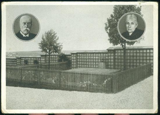 Hrob T G M  v Lanech | antikvariat - detail pohlednice
