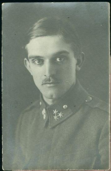 Mlady vojak | antikvariat - detail pohlednice