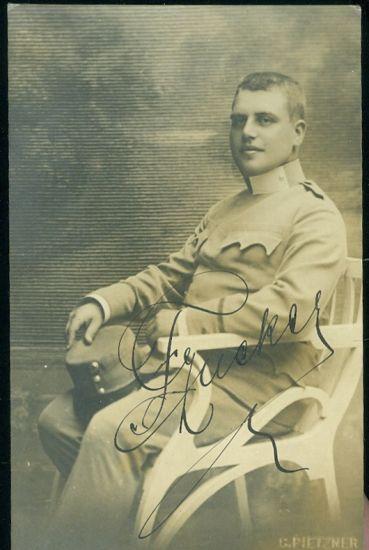Vojak v atelieru | antikvariat - detail pohlednice